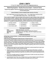 Network Engineer Resume Bravebtr