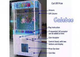 Cut Ur Prize Vending Machine Awesome Cut Ur Prize Key Master Claw Game Machine Prize Vending Machine