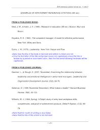 Article Format Sample Filename Citation Samples 2 Template