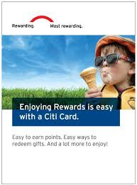 new citi rewards catalog offers