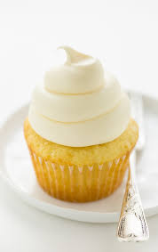 Perfect One Bowl Vanilla Cupcakes With Vanilla Buttercream Frosting