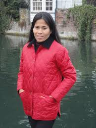 Barbour Ladies Shaped Liddesdale Quilted Jacket Chilli Red ... & Barbour Ladies Shaped Liddesdale Quilted Jacket Chilli Red LQU0063RE54 - Red  Rae Town & Country Barbour Ladies Quilt Jackets Adamdwight.com