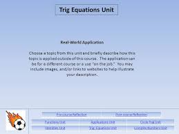 functions unitapplications unitcircle trig unit identities  24 real world