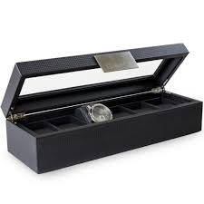 6 slot watch box for men glenor co