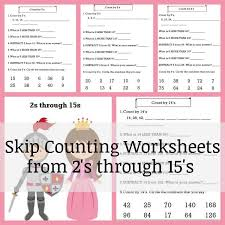 Skip Counting Worksheet Download * Our Good Life
