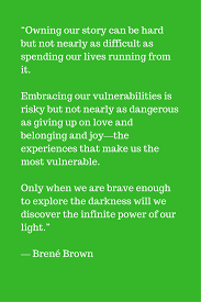 Vulnerability Quotes New Brené Brown Quotes On Vulnerability Coping With Divorce The