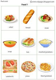 Food Flash Cards Risultati Immagini Per Food Flashcards Finger Puppets Esl Food
