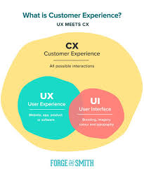 Infographic Venn Diagram Customer Experience User Experience User Interface