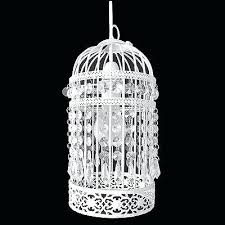 birdcage ceiling light shade lantern fitting cream ivory easy fit bird cage pendant chandelier white s