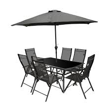 outdoor table and chairs. Beautiful Garden Table Chairs 3 Santorini 8 Piece Patio Set P2836 13576 Image . Curtain Engaging Outdoor And
