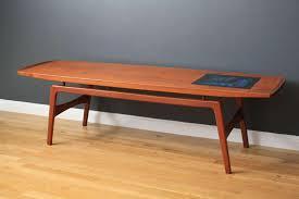 stunning danish coffee table danish modern coffee table hovmand olsen at 1stdibs