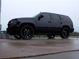 I really want a blacked out Tahoe @Grayson Stebbins Womack ahhhhhh ...