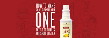bottle of thieves household cleaner