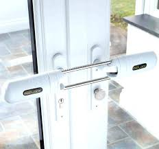 patio door security sliding glass door security locks patio door security bar home depot