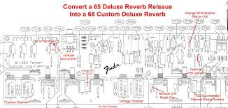 nad 68 custom deluxe reverb telecaster guitar forum here s how to convert a 65 drri into a 68 custom deluxe reverb to see the differences between the two amps