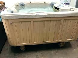 portable spas for bathtub model x hydro therapy jets includes spa cover start up chemicals