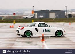 White Toyota Sports Car Stock Photos & White Toyota Sports Car ...