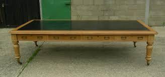 huge desk. Large Antique Boardroom Table - 19th Century Victorian Or Huge Writing Desk E