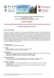 department of marketing and international business lingnan cfp