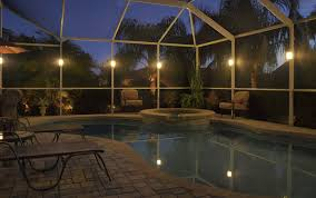 pool cage lighting. Picture Pool Cage Lighting E