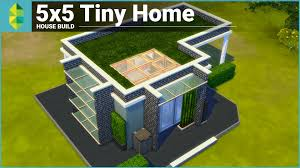 Small Picture The Sims 4 House Building 5x5 Tiny Home YouTube