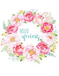 Free Spring Free Printable Spring Peony Art Easter Art The Happy Housie