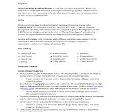 Copywriter Resume Imposing Sample Copywriter Resume Excellent Monster Com Frees For 22