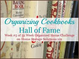 Image Recipe Book Tips Ideas For Organizing Cookbooks Home Storage Solutions 101 Ideas For Displaying Organizing Cookbooks