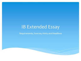 When is the extended essay due        Write my essay online Home   FC