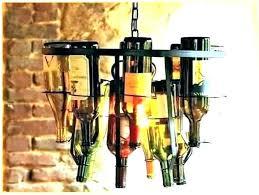 chandelier made of wine glasses fresh wine e chandelier kit and glass how to make a chandelier made of wine glasses