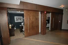 office barn. Leasing Office Reception Room Doors On Barn Door Tracks With Large Handles 10 F