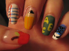 NOTD: Back to School Nail Art | Erica's Nails and More