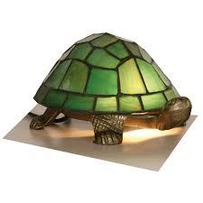 tortoise lighting. Tiffany Animals 1x25w Decorative Tortoise Light Fitting In Green - Oaks Lighting OT 950 GR S
