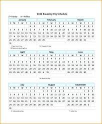 Payroll Calendar Template Extraordinary Payroll Calendar Schedule Template Excel Bi Monthly Semi 48
