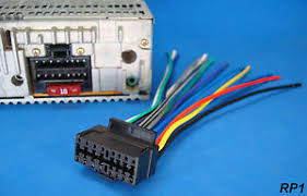 new sony xplod pin radio wire harness car audio stereo power image is loading new sony xplod 16 pin radio wire harness
