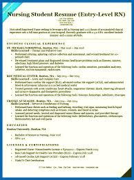 Objective For Resume Nursing School - Embersky.me