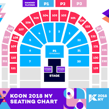 Kcon Ny 2017 Seating Chart Kcon 2018 Ny Starts The Artist Lineup Reveal One Stop K Pop