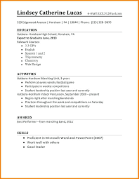 Examples Of A Simple Resume Simple Resume Format Examples Simple ...