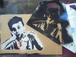 Stenciling Spray Paint Creating Complex Spraypaint Stencils By Hand 7 Steps