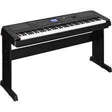 yamaha 88 key digital piano. yamaha dgx-660 88-key weighted action digital grand piano premium with matching stand 88 key amazon.com
