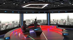 Tv Studio Lighting Design Virtual Tv Studio Chat Set 2 Tv Virtual Studio Set