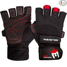 meister wrist wrap gloves