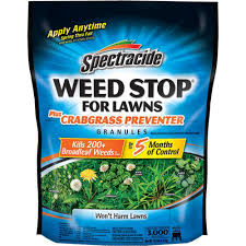 Image For Lawns Spectracide Weed Stop 10 8 Lbs Crabgrass Preventer Lawn Granules