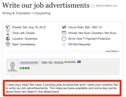 copywriting job description on upwork copywriter job description