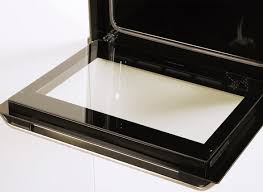 good oven door glass beko o d x fanned electric built in double stainless easy to remove full