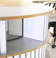 storage unit office. 90 degree desk height tambour storage unit curved office corner cupboard t