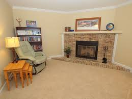 Traditional Living Room Colors Traditional Living Room With Carpet Metal Fireplace In Fairfax