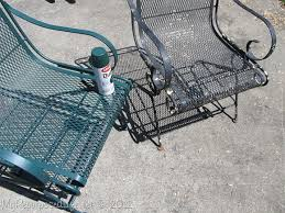 painting wrought iron furniture. Spray Paint Wrought Iron Patio Chair Painting Furniture R