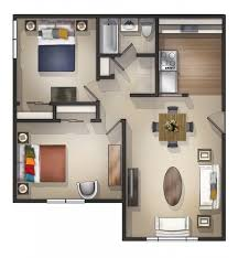 Home Design   Images About Floor Plan On Pinterest Plans D - Studio apartment floor plans 3d