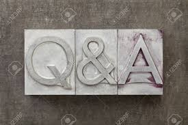 q a questions and answers acronym text in vintage letterpress q a questions and answers acronym text in vintage letterpress metal type stock photo